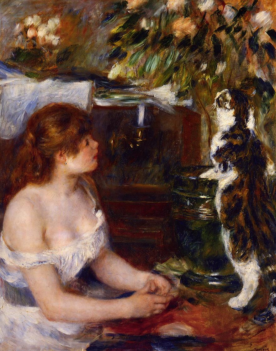 girl-and-cat-1882