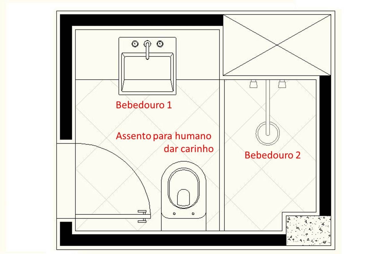 Divã do Borges 45 – O caso do banheiro – Borges o gato #B4171C 1369 889